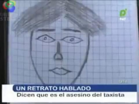 Bolivian Police Sketch