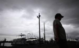 Fisherman after Katrina